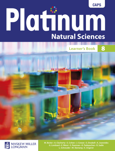 Platinum Natural Sciences Grade 7, Grade 8 and Grade 9 eBooks